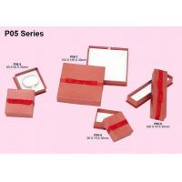Buy cheap Paper Jewelry Boxes, Cardboar Jewellery Packaging Box With Yarn Ribbon from wholesalers