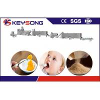 Wholesale Nutritional Powder Food Extruder Machine Stainless Steel 304 Baby Food Production Line from china suppliers