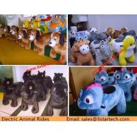 motorized animals china wholesale animal rides mountable coin car for sale