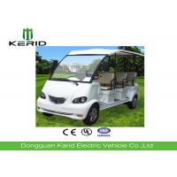 China Light Weight 48V DC Motor Mini 8 Seats Electric Tourist Car Payload 700kg on sale