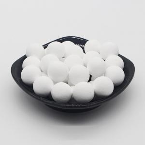 Wholesale Ethylene Dryers Alkaline 99% High Alumina Ball Support Alpha 19mm from china suppliers