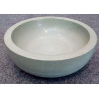 Wholesale Green Solid Sandstone Bowl Inside Outside Both Polished Diameter 20cm Height 7cm from china suppliers