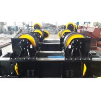 Hydrulic Fit Up Welding Pipe Stand Roller 60T  For Automatic Circle Seam Welding