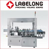 China Automatic Label Applicator Machine , Product Labeling Machine For Glass Bottle for sale