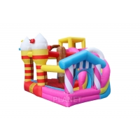 Wholesale Home Candy 3ML*2.8MW*2.2MH Inflatable Slide Jumping Castle from china suppliers