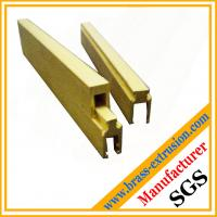 Wholesale electrical components copper alloy extrusion profiles from china suppliers