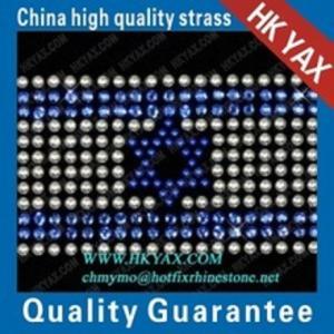 Wholesale new design national flag hotfix motifs pattern;fashion design hotfix motifs;factory price motif hotfix from china suppliers