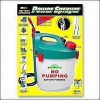Buy cheap Battery-powered Garden Sprayer with Shoulder Strap and Extendable Wand from wholesalers
