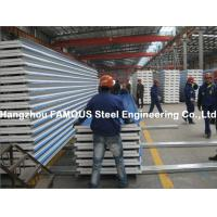 Wholesale Corrugated Steel Roofing Sheet Metal Roofing Sheets Sandwich Panel EPS PU Rock Wool from china suppliers