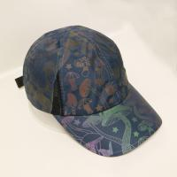 Wholesale OEM/ODM ACE brand 100% polyester reflective print sport golf baseball hat cap from china suppliers