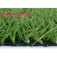 China Football Stadium Artificial Turf Grass Water Saving Excellent Leisure Effect High Color Fastness for sale