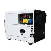 Petrol Air Cooled Engine Gas Powered Generator 5kw 3kw Power Silent 4 Stroke AVR for sale