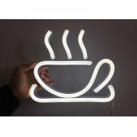 Wholesale RF Remote Control Neon Coffee Sign  Decorative Kitchen  Cup Logo Neon Coffee Sign from china suppliers