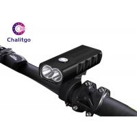 Wholesale USB Charging Mountain Bike Flashlight , 2T6 18650 Rechargeable Front Bike Light from china suppliers