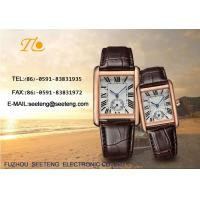 Wholesale WHOLESALE PU STRAP AND ALLOY CASE QUARTZ  WATCHES CLASSICAL  COUPLE WATCH from china suppliers