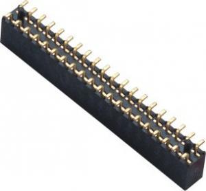 2.0mm SMT Female Connector LCP Back  phosphor Bronze Gold Flash