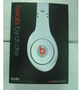 Mini Beats by Dr Dre Studio Headphones Earphone Black/White