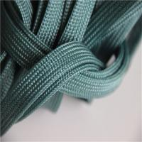 China Easy Clean Polyester Braided Webbing Garden Furniture Use Hot Resistant on sale