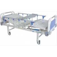 China Multifunction Movable 2160*950*500mm Manual Hospital Bed on sale