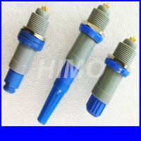 China wholesale Medical 14pin Plastic Circular Connectors Lemo Redel 1P Size straight plug and receptacle for sale