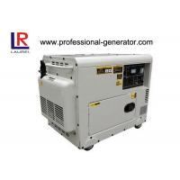 Best Copper Wire Silent 5kw Diesel Generator AC Single Phase , Small Size Save 8% Freight wholesale