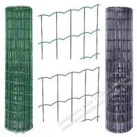Plastic Coated Welded Wire Mesh Rust - Resistant For Sport Yard / Residential for sale