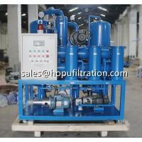 China Transformer oil purifier Price,transformer oil filtering machines, double stage vacuum transformer oil dehydration for sale