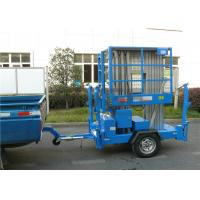 Wholesale 8m Platform Height Electric Man Lift Trailer mobile aerial work platform from china suppliers