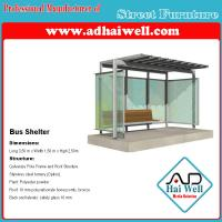 Wholesale Good Design Public Street Furniture Bus Shelter Advertising Panel from china suppliers