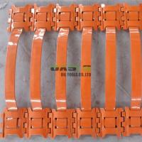 China Well Casing Screen Turbolizer Centralizer , Hinged Spring Positive Centralizer for sale