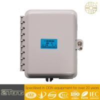 Wholesale Durable 6 - 12 Core  FTTH Fiber Access Terminal PC+ ABS Box With 8 SC Adaptors from china suppliers