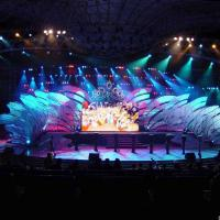 Wholesale Light Weight LED Curtain Display Led Costumes Aluminum For Stage Performance from china suppliers
