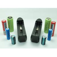 Longest Lasting 18650 Li Ion Battery , Universal Lithium Ion Camera Battery Charger