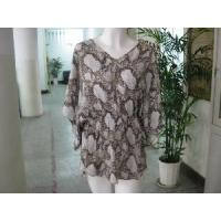 Wholesale Silk Batwing Sleeve Blouse from china suppliers