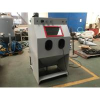 Wholesale Small Type Dust Free Abrasive Blast Cabinets / Media Sandblasting Cabinet 900 * 600 * 580 mm from china suppliers