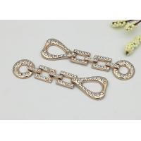 Wholesale Decorative Womens Boot Chains , Shoe Chain Accessories Easy To Put On / Take Off from china suppliers