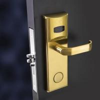 Card Hotel Electronic Door Locks , Hotel Room Security Door Locks for sale