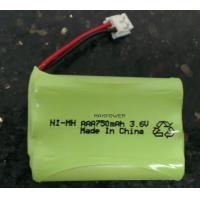 Wholesale Ready To Use AAA750 Nimh Battery Packs 3.6V For Baby Monitor from china suppliers