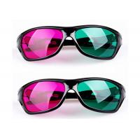 Buy cheap Cinema Plastic 3D Glasses Linear Polarized With Anti Scratch Lenses from wholesalers