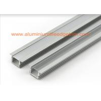 Wholesale Matt Silver Aluminum Square Tubing , LED Profile Aluminium Channel For Led Strip Lighting from china suppliers