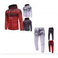 China High Quality Custom polyester Fabric Sublimation Mens Slim Fit Hoodies Street Tracksuit on sale