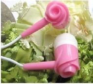 Wholesale Rose Flower Earphone from china suppliers