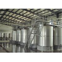 Wholesale 100L - 8000L Capacity Sanitary Mixing Tanks Stainless Steel Apple Juice Tanks from china suppliers