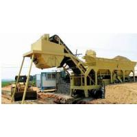Wholesale YHZS25/YHZS35/YHZS50/YHZS75 Mobile Soil Mixing Plant/Dry batching plant from china suppliers