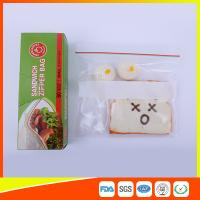 Wholesale Custom Resealable Plastic Sandwich Bags With Write Panel , Zip Lock Pouch Bags from china suppliers