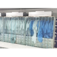Wholesale SUS Clean Room Equipments Garment Cabinet / Laminar Flow Dress Cabinet from china suppliers