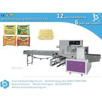 China Automatic Instant Noodle Flowpack Packing Machine Pillow Bag Packaging Machine on sale