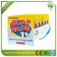 Wholesale best steel wool soap pad to clean dirt both used in house and industry from china suppliers