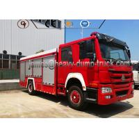 China 4X2 Sinotruk Water And Foam Tanker Firefighter Truck With Diesel Fuel Type on sale