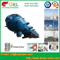 Best High Pressure Coal Boiler Mud Drum Longitudinal With Fire Prevention wholesale